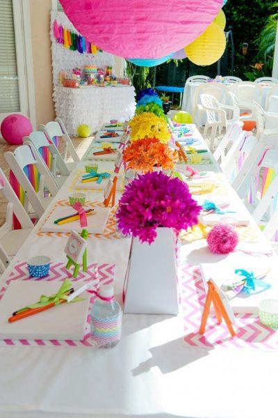Fiesta De Cumpleaños A Todo Color Divertida Y Original Fiestas Y Cumples