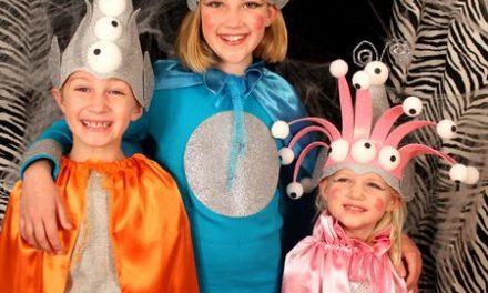 Disfraces infantiles de marcianos y alienígenas