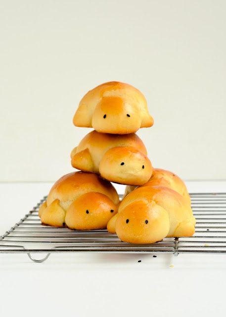 Pan de tortuga: recetas infantiles
