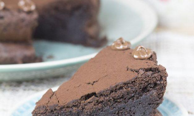 Tarta de chocolate sin gluten para fiestas infantiles