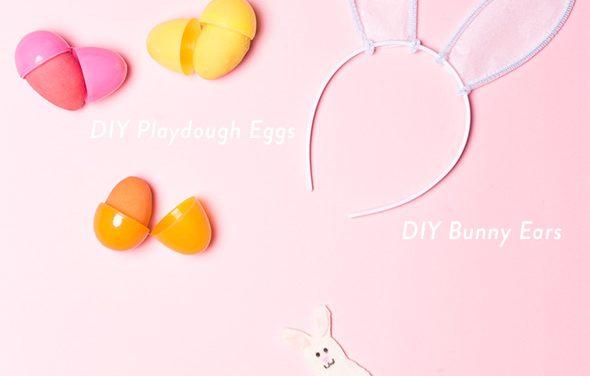 3 manualidades inmediatas para decorar tu cesta de Pascua
