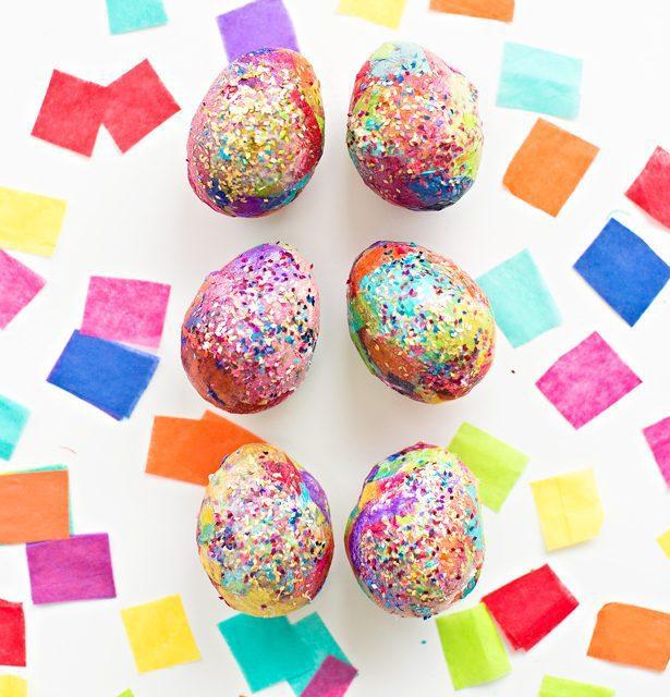 Huevos de Pascua: manualidades divertidas de decoración para niños