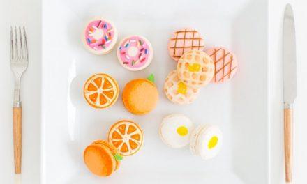 Galletas francesas decoradas para mesa dulce y fiestas infantiles