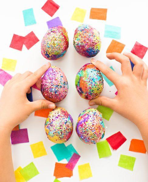Huevos De Pascua Manualidades Divertidas De Decoracion Para Ninos