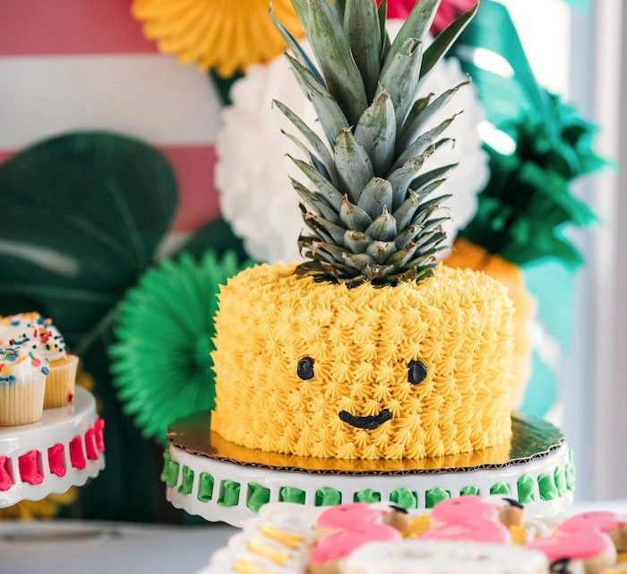 Fiesta temática de piña para niños: ¡ideas originales de decoración!
