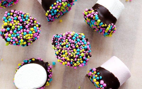Nubes de chocolate para fiesta infantil: ¡recetas deliciosas!