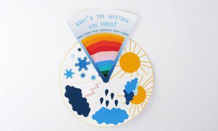 Rueda para predecir el tiempo: imprimibles y manualidades de papel