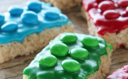 Barritas de arroz y fichas de lego: recetas para meriendas infantiles