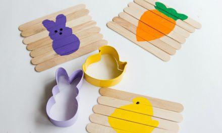 Puzzle de Pascua para bebés: manualidades sencillas