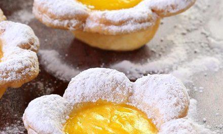 Tarta de limon con forma de flor: recetas originales