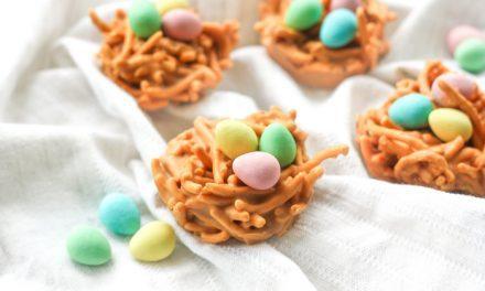 Recetas de Pascua para niños: galletas de nidos