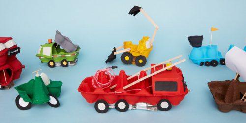 Manualidades para niños con material reciclable 3 youtube.
