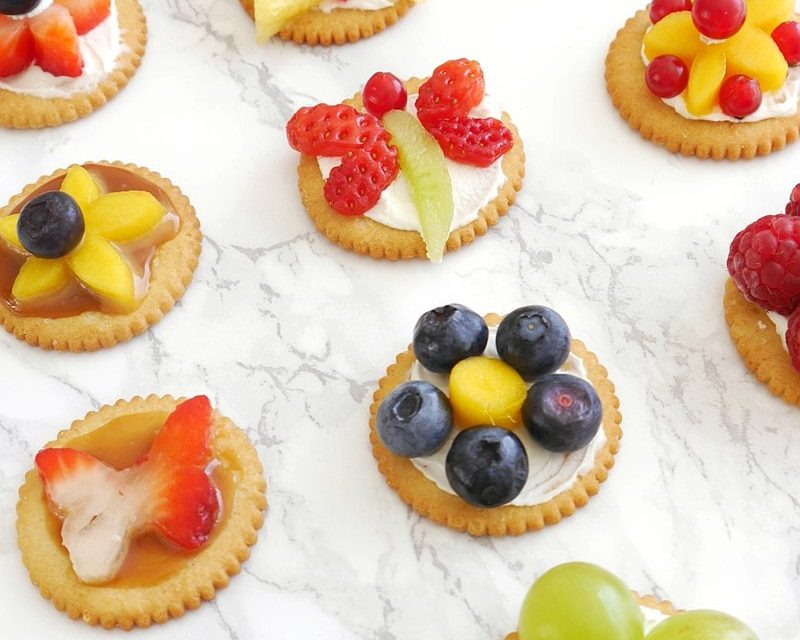 Aperitivos infantiles: decoración de comida para fiestas