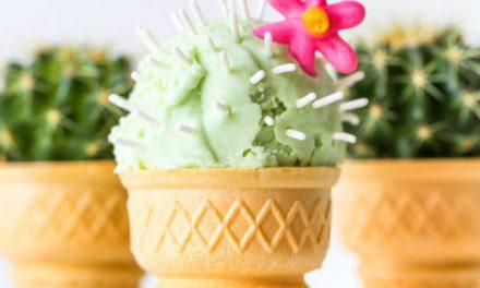 Helados caseros de cactus para el verano: recetas infantiles originales