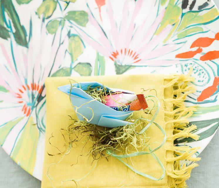 Pollitos de origami: DIY de decoración con papel