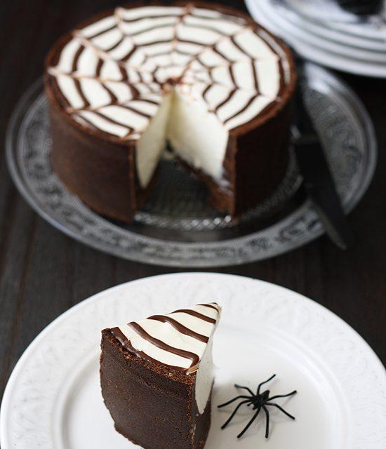 Tarta de chocolate sin horno (¡para Halloween!)