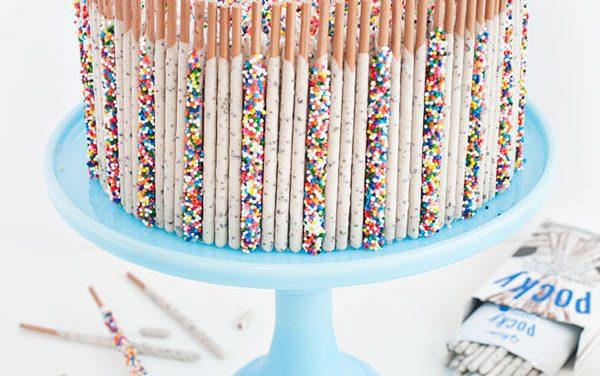 Ideas originales para decorar tartas infantiles con confetti