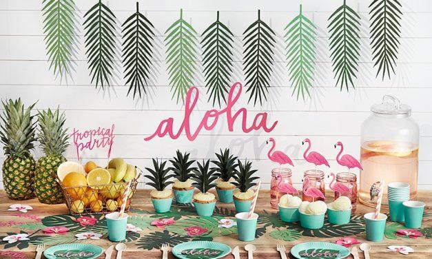 Divertida fiesta tropical con Aire de Fiesta
