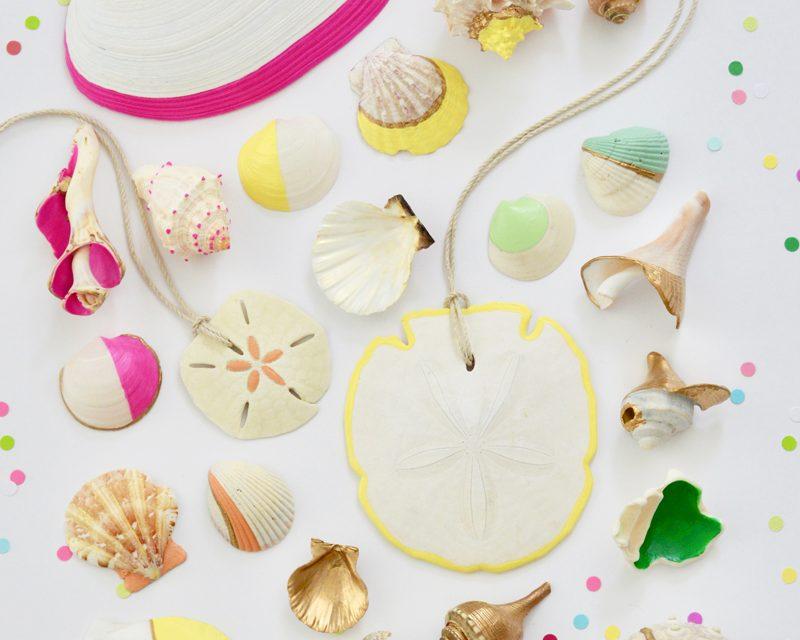 Actividades de verano: decoración de conchas marinas