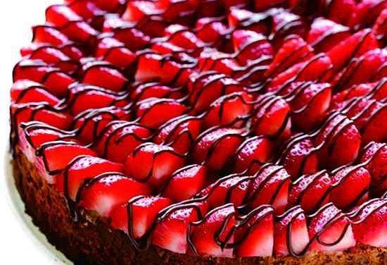 Tarta de nutella y fresas para fiestas infantiles: ¡qué rico!