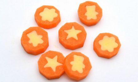 Meriendas saludables para niños: zanahoria con queso
