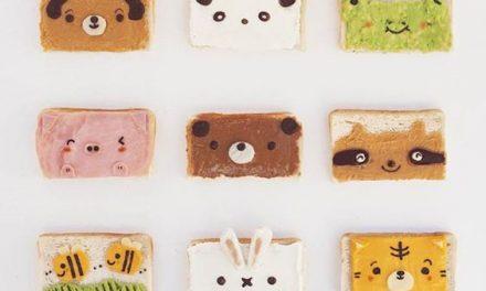Tostadas infantiles: ideas geniales para los desayunos