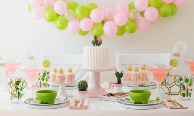Fiesta temática para niños de cactus: ideas para decorar un cumpleaños
