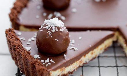 Tarta Bounty para hacer en casa: tartas de cumpleaños originales