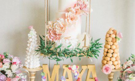 Cumpleaños de inspiración floral: ¡ideas para tu fiesta infantil!