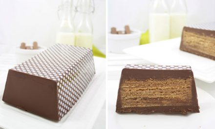 Tarta gigante de Kit-Kat fácil y sin horno: ¡para cumpleaños infantiles!