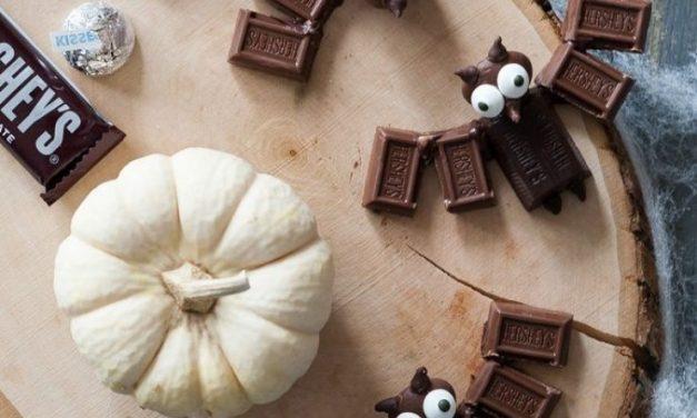 Recetas para Halloween: Murciélagos de Chocolate