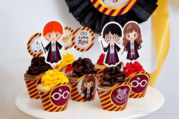 Nuevos imprimibles de Harry Potter en Todobonito.com