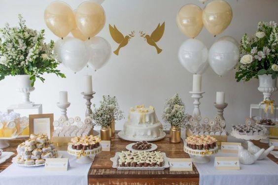 Sugerencias de decoración para celebrar la primera comunión en casa
