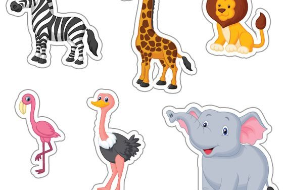 Los nombres de los animales en inglés para niños