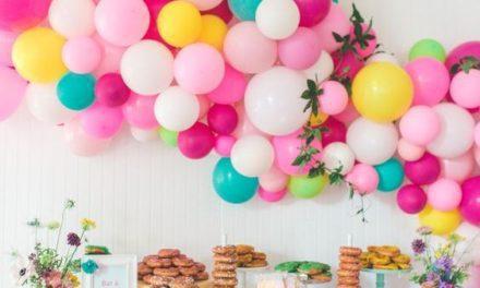 Guía sobre decoración con globos para cumpleaños infantiles