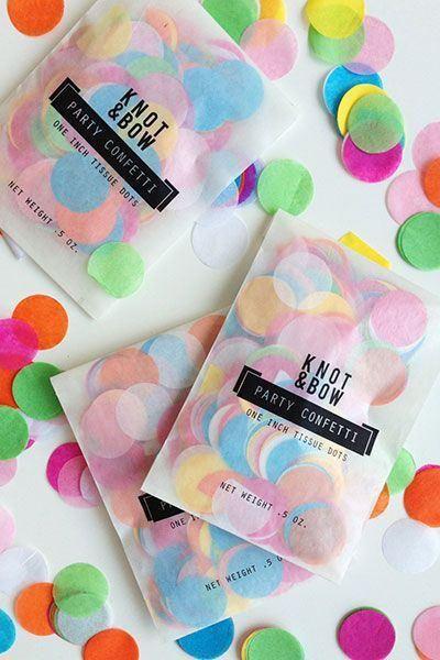 Cómo hacer confeti casero para fiestas