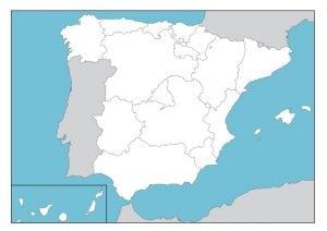 mapas políticos España