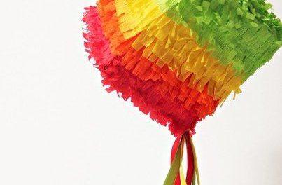 Cómo hacer una piñata casera paso a paso