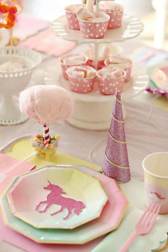 artículos fiesta unicornio