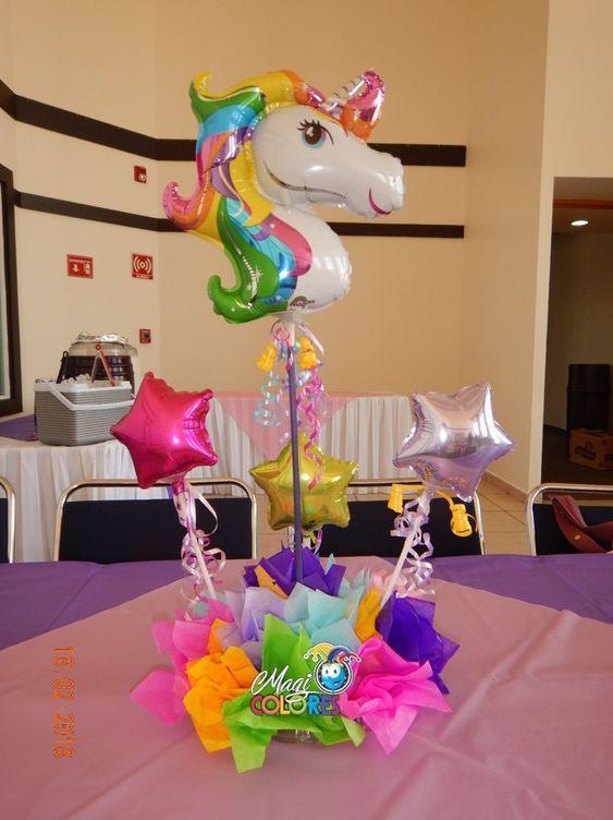 globos de unicornio para cumpleaños
