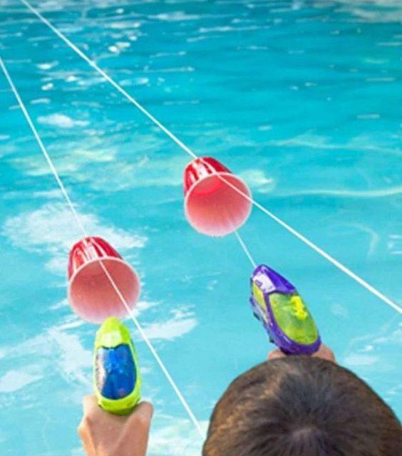 Juegos de piscina para niños divertidos