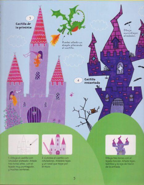 dibujar castillos