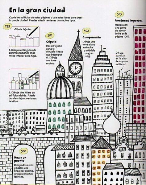 dibujar ciudad