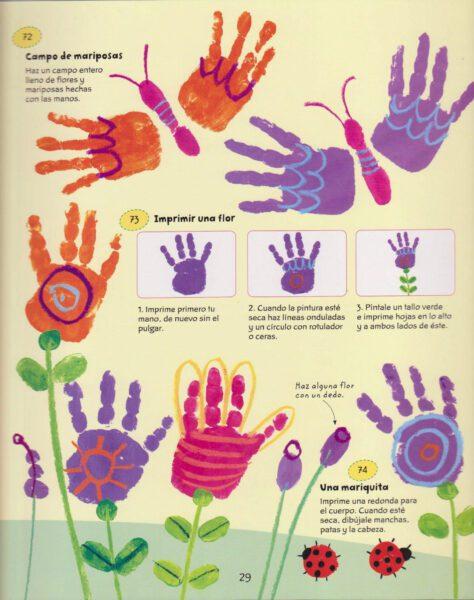 mariposas de manos