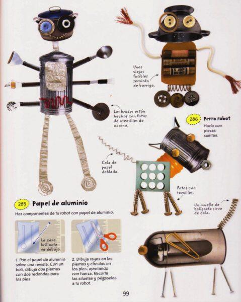 robots con collage