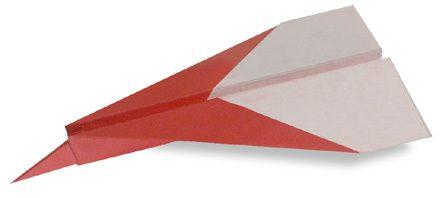 como hacer aviones de papel