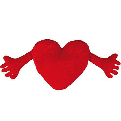 corazon con manos roja