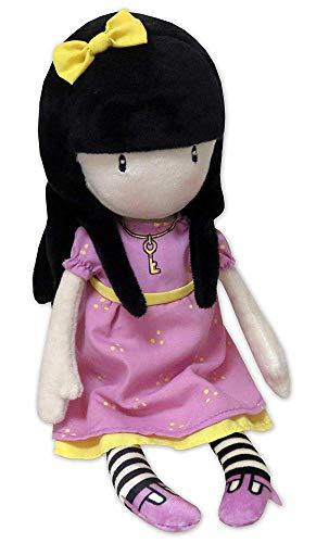 muñeca de peluche rosa