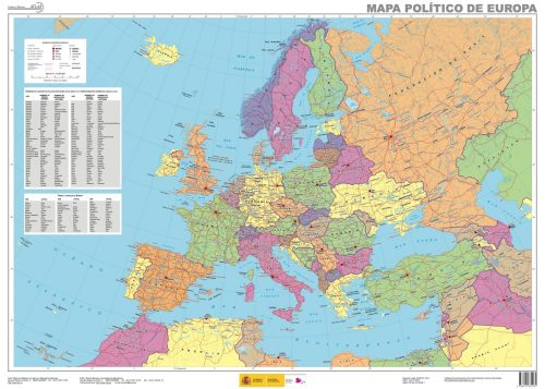 Mapa Europa politico