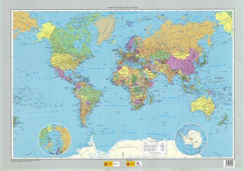 Mapa del mundo politico